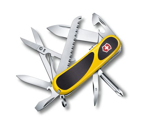 Swiss Army Sa4121 Black victorinox evolution grip s18 in yellow black 2 4913 sc8