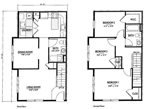 simple 2 story house plans 2018 small 2 story 3 bedroom house plans home deco plans simple two story floor plans