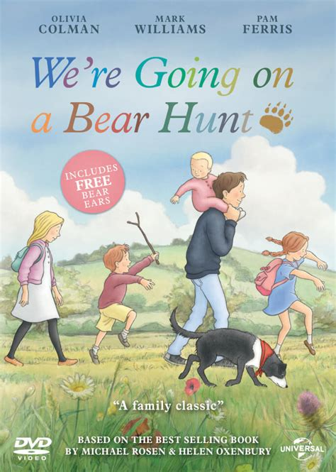 were going on a 1406363073 we re going on a bear hunt includes free bear ears dvd zavvi com