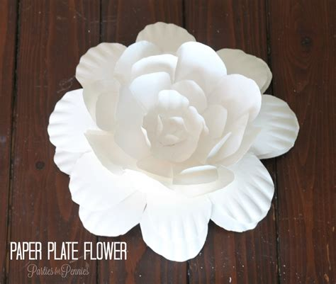 Paper Plate Craft Work - diy flowers from office supplies the officezilla 174
