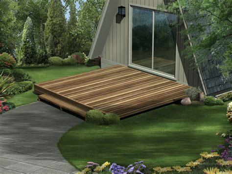 Simple deck plans home design ideas
