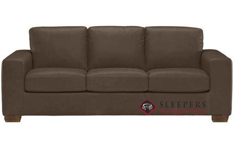 natuzzi sofa sleeper quick ship rubicon b534 queen leather sofa by natuzzi