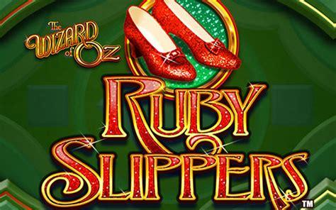 wizard  oz ruby slippers slot machine game  play  dbestcasinocom