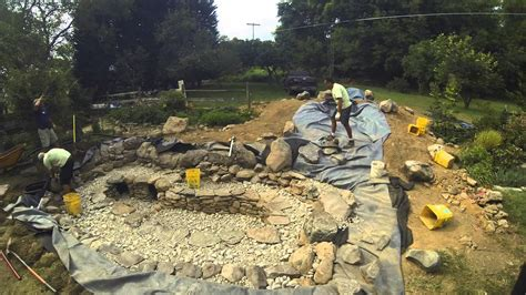 how long does it take to build a house how long does it take to build a backyard pond