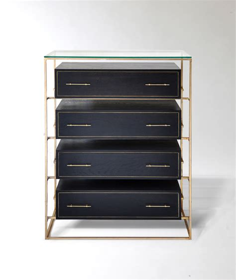 Dresser Drawer Designs by Marvelous Four Tier Floating Drawer In Black Finished For