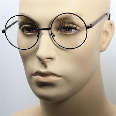 Big Frame Glasses large oversized big metal frame clear lens