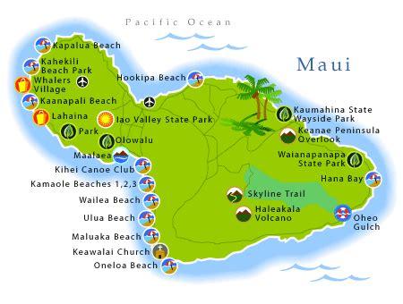 printable road map of hawaii maui maps printable maui map beaches hawaii