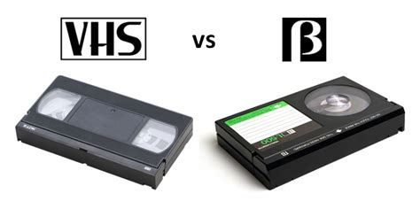 cassette beta legendary products vhs vs beta