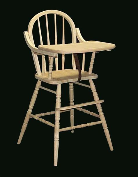 Baby High Chair Wood by Wooden High Chair To Refinish Diy