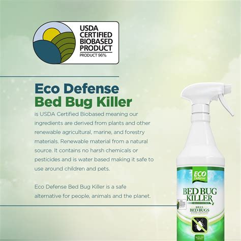 eco defense bed bug killer natural organic formula fastest  gallon bed bugs buster