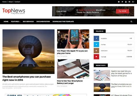 top news responsive blogger template blogspot templates 2018