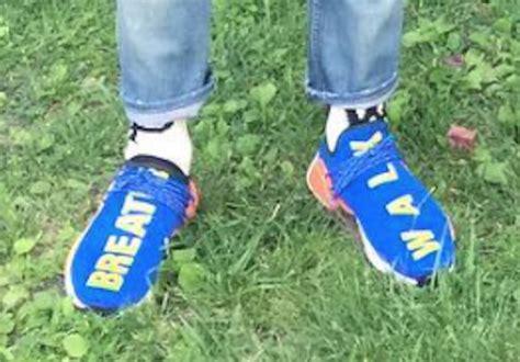 Adidas Nmd Hu X Pharrell William Breathe Walk Sneakers Mirror adidas nmd human race breathe walk sneaker bar detroit