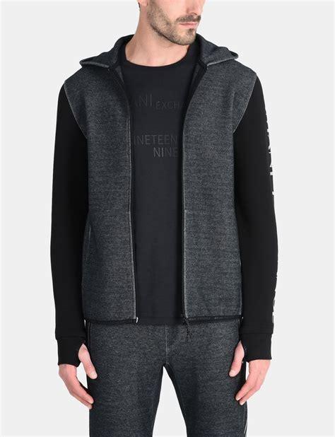 Sweater Pria Fleece Jaket Zipper Hoodie Distro Infcl Eklusif armani exchange reflective logo hoodie fleece jacket for a x store