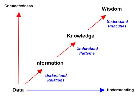The Answer Is A And Management Wisdom Soft Cover data information knowledge wisdom