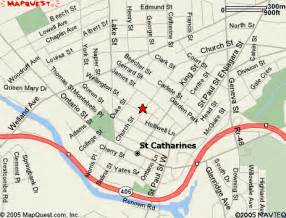 st catharines map and st catharines satellite image