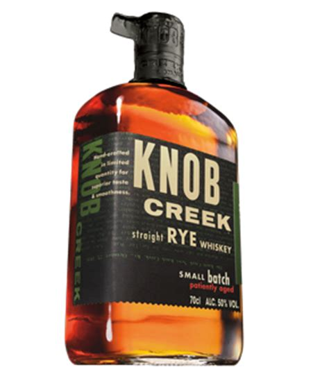 Knob Creek Rye by Why The Manhattan Beats The Fashioned