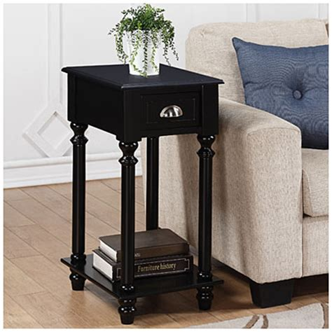 Black Side Table With Drawer by Small Black Side Table With Drawer Big Lots