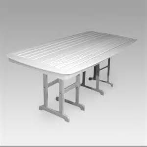 Plastic Outdoor Dining Table Polywood 174 Nautical Recycled Plastic Outdoor Dining Table Patio Dining Tables At Hayneedle