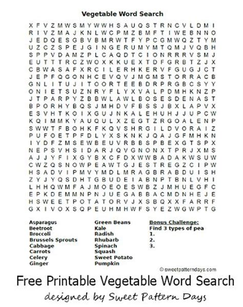 printable vegetable word search 167 best images about activity printables on pinterest