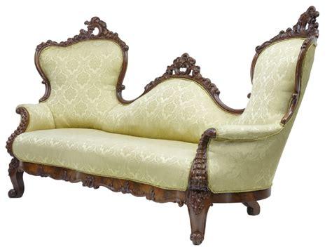 victorian style sofas uk 19th century carved mahogany victorian sofa 250060