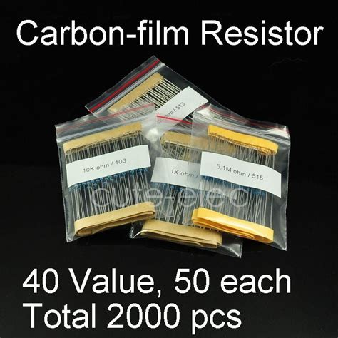Bpr56 0 15r 0 15 Ohm I Non Inductive Resistor 5 Wat 2000 pcs assorted 1 4w 0 25w 5 through carbon resistor kit 0 10mohm ebay