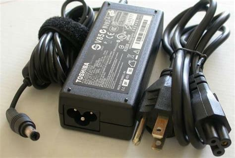 genuine toshiba satellite u840 laptop power supply ac adapter cord cable charger ebay