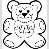 18 teddy bear outline drawing free cliparts that you can download to ...