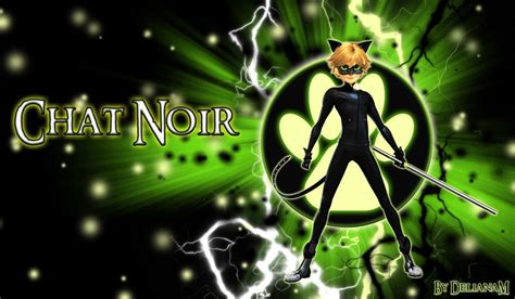 wallpaper chat noir chat noir by delianam on deviantart