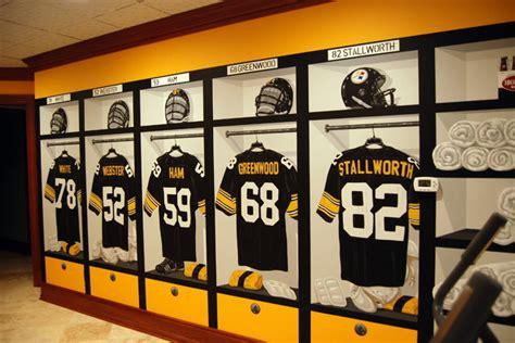 Steelers Locker Room by Pittsburgh Steelers 1970 S Locker Room Mural By Tom