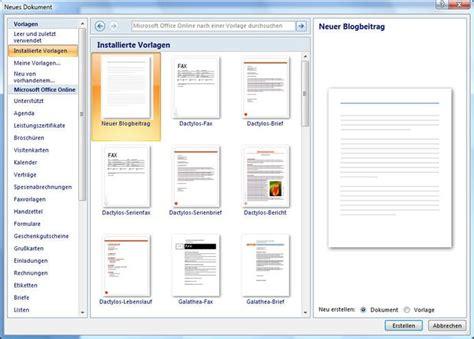 Word Vorlagen Weitere Word Vorlagen Eigene Und Installierte Word Vorlagen