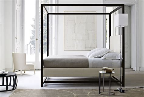 letto baldacchino moderno letti a baldacchino una scelta inusuale spazio soluzioni