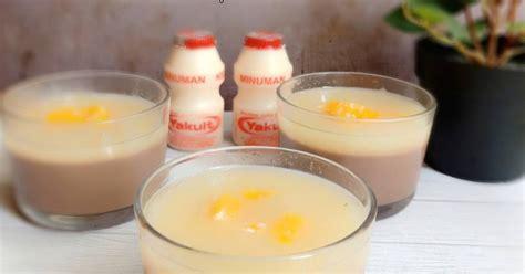 resep fla puding enak  sederhana cookpad