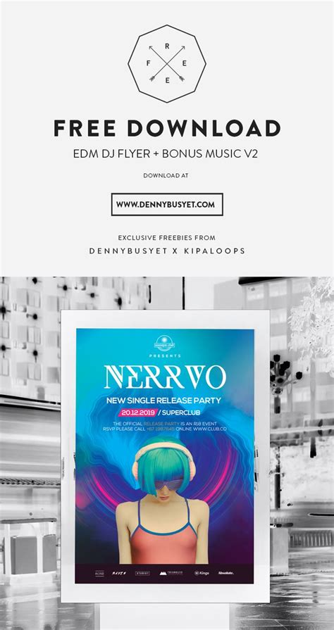 edm template free 58 best images about edm and nightclub flyer poster