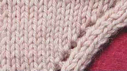 yo knitting knitting with karma knitting 101 march yo k2tog ssk