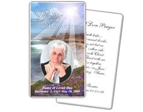 laminated prayer cards templates memorial service prayer card twilight prayer card