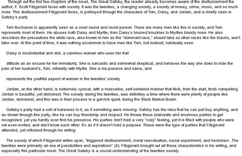 Great Gatsby Analysis Essay by Need Somebody Write My Paper The Great Gatsby Literary Analysis Essay Do Write My Paper