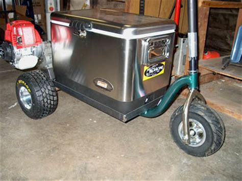 motorized chest cooler scooter s chest scooter
