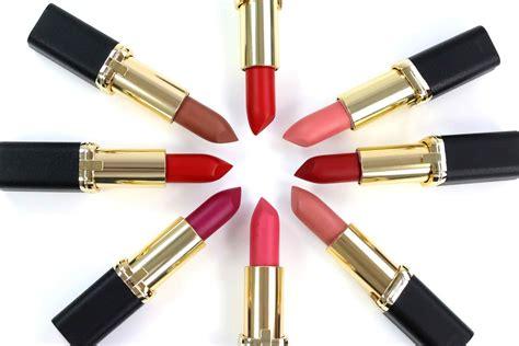 L Oreal Color Riche Matte loreal color riche matte lippenstift swatches und