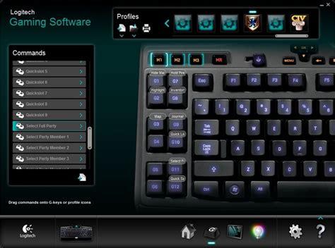 logitech software logitech gaming software