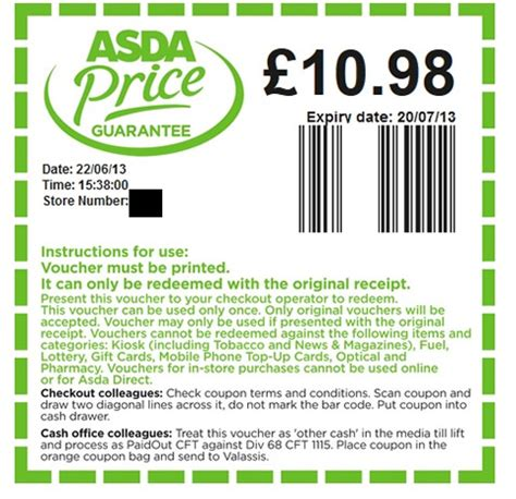 printable coupons uk sainsbury s asda 1l spirits effectively 163 14 40 after price guarantee
