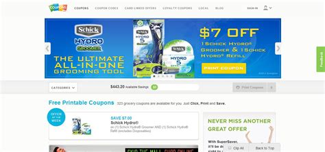 printable grocery coupon websites 30 best websites and apps that will save you money on