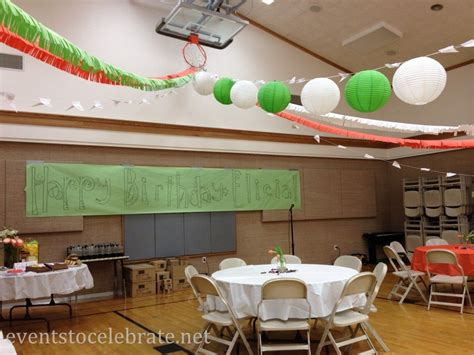 ideas for decorating large spaces best of events to
