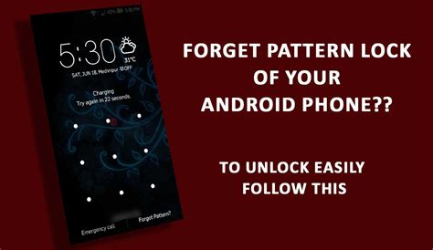 lock pattern android locked out how to unlock android smartphone when you forgot it s pattern