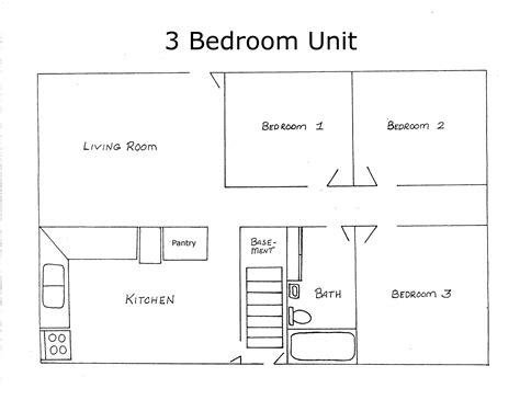 sle layout of a house house design maps free bedroom house