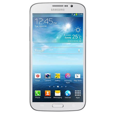 samsung galaxy mega  gt  blanc mobile smartphone samsung sur ldlc