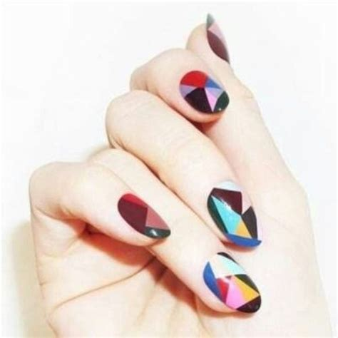 geometric pattern nail art 50 beautiful nail art designs ideas body art guru