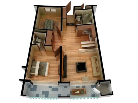 doll house floor plans 3d model of floor plan doll house