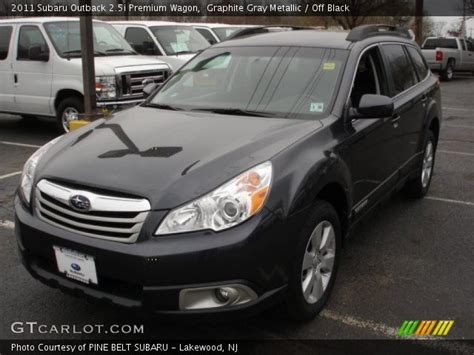 2011 subaru outback 2 5i premium wagon rare 6 speed manual for sale in saskatoon graphite gray metallic 2011 subaru outback 2 5i premium wagon off black interior gtcarlot