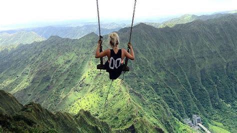 swinging heaven south africa the world s most beautiful and dangerous swing has been