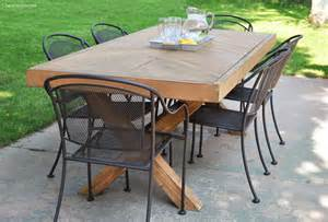 outdoor tische diy outdoor table plans cherished bliss